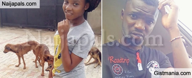 Online User Mistakenly Shows Hungry Looking Dogs Alongside His Girlfriend On Facebook (Photos)