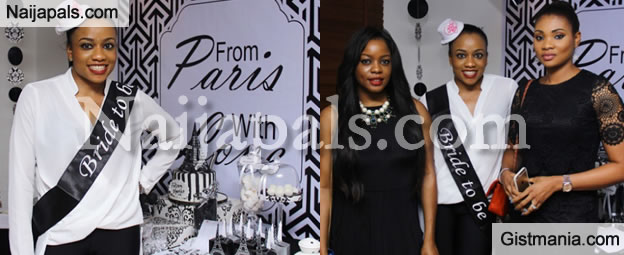 Check Out Photos From Billionaire Daughter, Onyinye Carter's Bridal Shower
