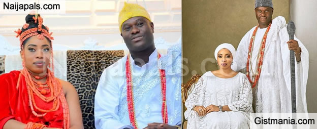 Reasons Ooni of Ife & Olori Wuraola's 17months Old Marriage Crashed - Olori's Friends Reveal