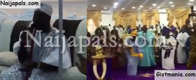 Ooni Of Ife Singing Praise and Worship To Jesus Christ In his Palace - Video