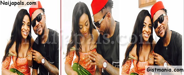 Oritsefemi And His Wife, Nabila Fash Celebrate Their Second Wedding Anniversary