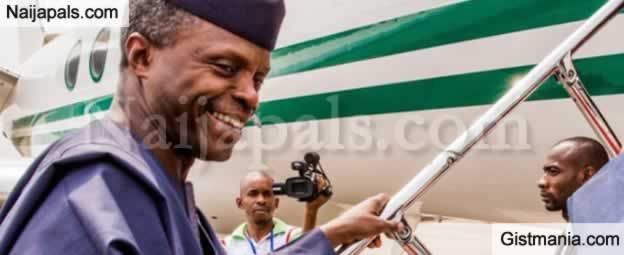 Osinbajo, Minister Leave For South Africa To Attend Presidential Inauguration