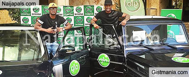 P Square Gets Brand New Cars as Loyalty Reward From Globacom (PHOTOS)