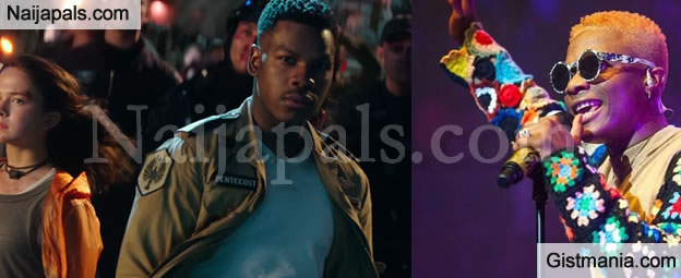 "John Boyega Helps Feature Wizkid's Song ""Daddy Yo"" In Hollywood Movie, Pacific Rim"