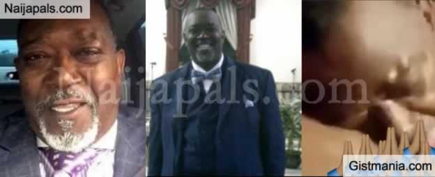 VIDEO: Video Of Texas Preacher, Pastor David Wilson Eating Up a Female Church Member