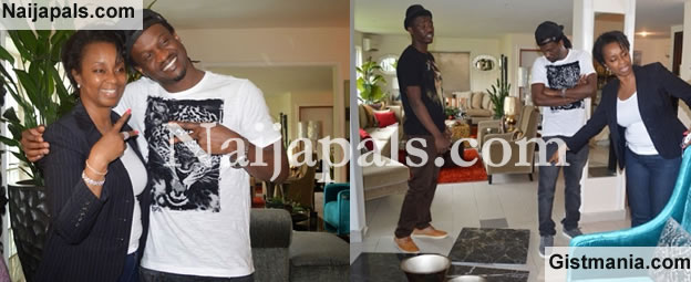 Paul Okoye & Wife, Anita Isama Out Shopping For Their New Home