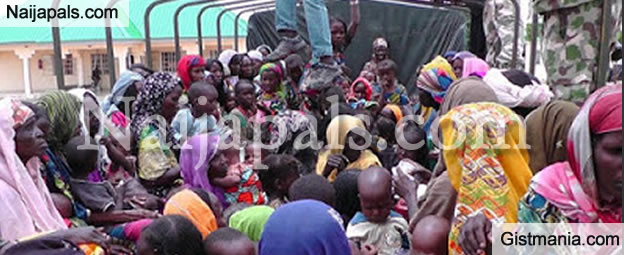 PHOTOS: Nursing Mothers & Children Rescued From Boko Haram