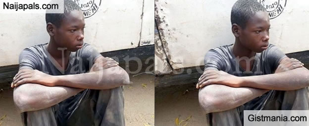 See Photo Of The 17yr Old Boko Haram Suspect Who Claim To Have Killed 18 People -Details