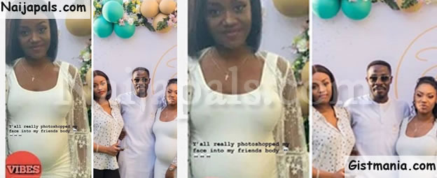 Pregnant Photo Of Davido's Girlfriend, Chioma Trends And She Has This To Say....