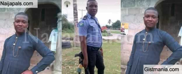 SAD: A Nigerian Police Officer Was Killed In An Accident Just Few Weeks To His Wedding