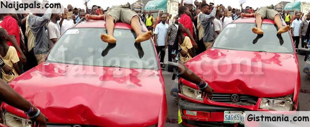 Protest As Trigger-happy Policeman Shoots Cab Driver Dead In Port Harcourt