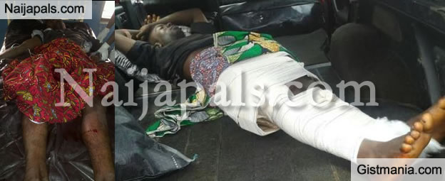 POLICE BRUTALITY: Police Officer Allegedly Shoots Roadside Mechanic In Kogi (Photos)