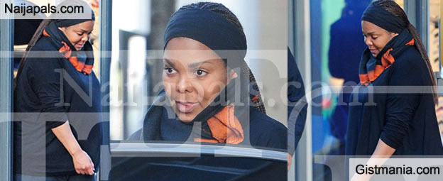 50yrs Old Janet Jackson Seen On Streets Of London With Her Growing Baby Bump - Photos