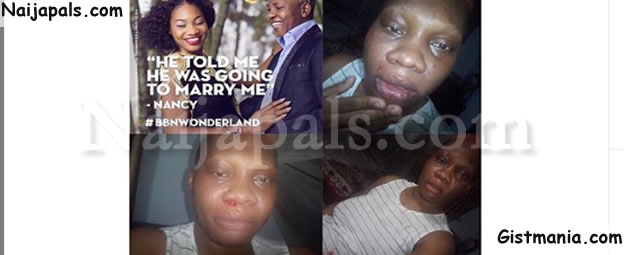 Pregnant Nigerian Lady Cries Out For Help After Being Battered & Held Hostage By Husband (Photos)