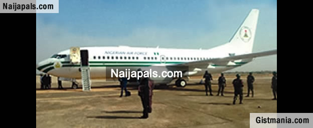 President Jonathan Escapes Death As Presidential Jet Malfunctions In