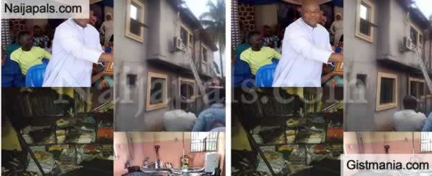 Catholic Priest, Rev. Fr Edmund Nwagbala Died During Fire Outbreak In Anambra