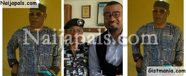 Popular Nollywood Actor, Prince Ekeh Congratulates His Dad As Hes Made Head Of SARS Force