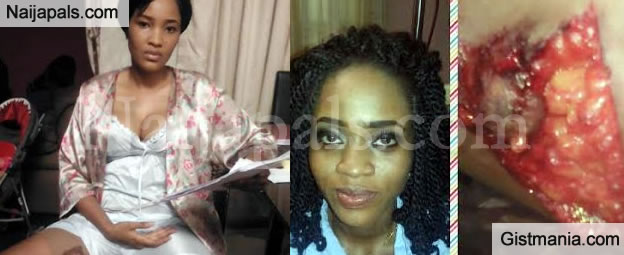 Nollywood Actress, Princess Chineke Attacked By Colleague On Set During An Argument (PIX)