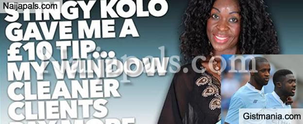 Malawian Prostitute, Sandra Ntonya Claims She Slept With Both Yaya Toure and Kolo Toure