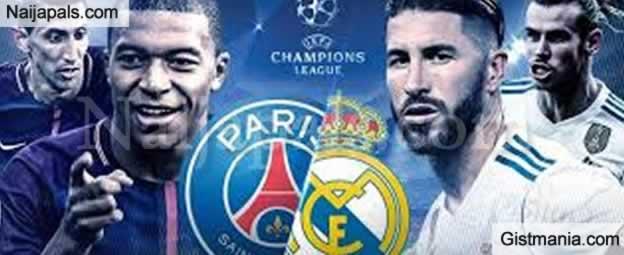 PSG v Real Madrid : UEFA Champions League Match, Team News, Goal Scorers and Stats