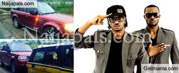 Psquare Peter Okoye Narrowly Escapes Death In Auto Accident [Photos]