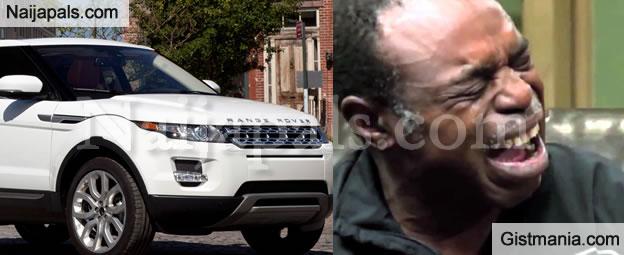 Video - Checkout A Yoruba Man's EPIC Reaction When His Range Rover Caught Fire