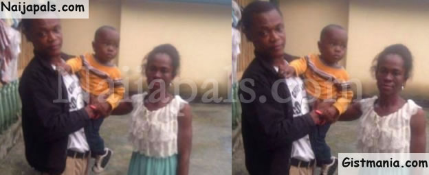 Nigerian Man Reunites With Ex-girlfriend He Abandoned After Getting Her Pregnant (Photo)