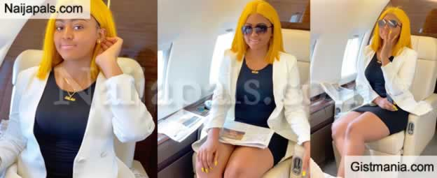 The Wealth You'Re Flaunting Is Another Woman's Sweat -Regina Daniels Stepson
