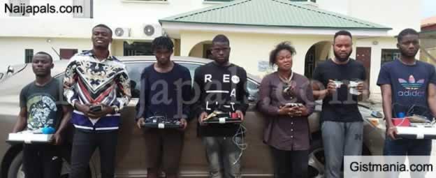 Reps Member's Aide's ID Card Found As EFCC Nabs 'Yahoo Boys' In Kaduna (PHOTOS)