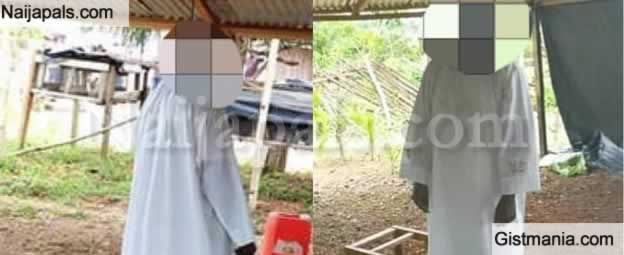 Graphic Photo: Catholic Priest, Leaves Note, Commits Suicide Over Child Sex Allegation