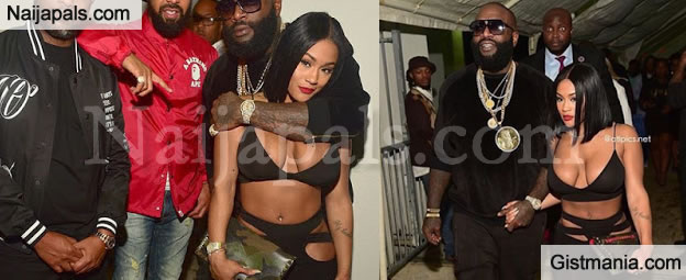 Rick Ross Goes Clubbing With His 22 Years Old Girlfriend, Lira Galore