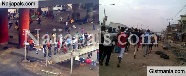 2 Killed In Area Gang Clash In Surulere Lagos (Photos)
