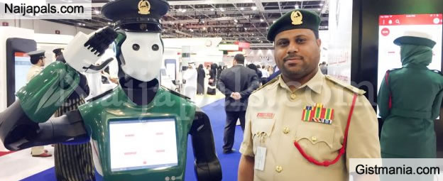 First Fully-operational Robocop' That Can Speak Six Languages, Begins Work As Policeman In Dubai