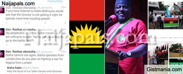 BIAFRAN DAY: Gov Rochas Okorocha Says Biafra Can Not Rise Again [Tweets]
