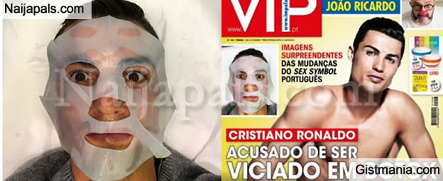 Cristiano Ronaldo Spends Thousands Of Euros On Cosmetic Therapy And Botox