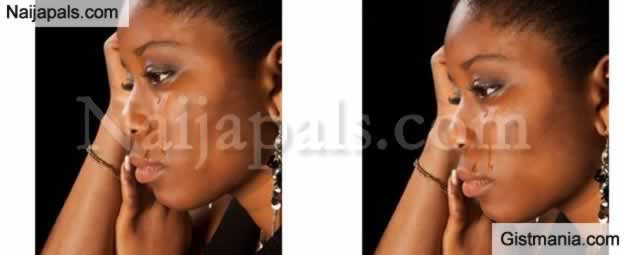 Wahala dey oo... Bride In Rude Shock After Husband's Ex-Girlfriend Disrupts Their Wedding