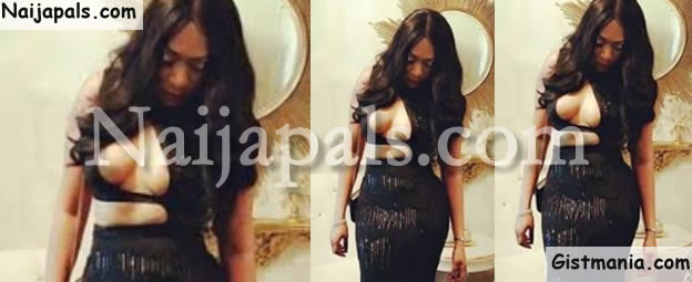 PHOTOS: Rukky Sanda Displays Bosom In Sexy Outfit To Movie Premiere