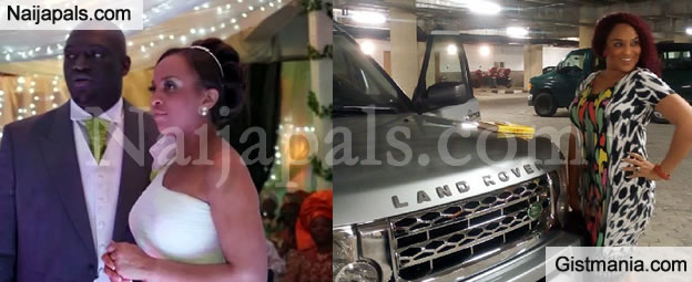 Sammy Okposo Buys New Range Rover For His Wife As Anniversary Gift (Photo)