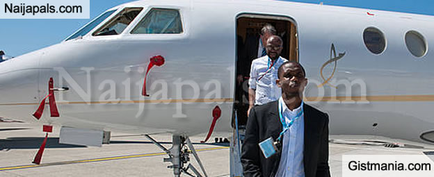 EXCLUSIVE: Samuel Eto'o's Private Jet Seized At Rivers State Airport