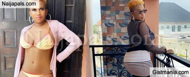 Ubi Franklin's Alleged 4th Babymama, Sandra Iheuwa Is In Nigeria&#059; Shows Off Her Banging Body!