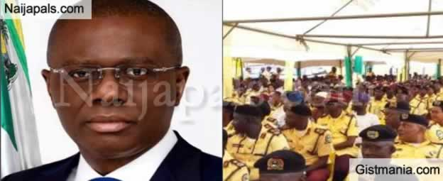 Kudos! Governor Sanwo-Olu Increases LASTMA Officers Salary By 100%