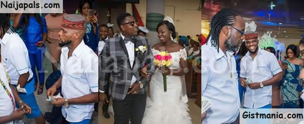 LMAO! See What Friends Wore To Wedding Of Couple Who Wore School Uniforms In Pre-wedding Photoshoot
