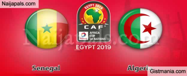 Senegal v Algeria - African Cup Of Nations Final Match, Scorers And Stats
