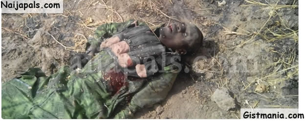 Senior Boko Haram Commander, Tukur Bama Killed By Security Operatives In Borno (Photos)