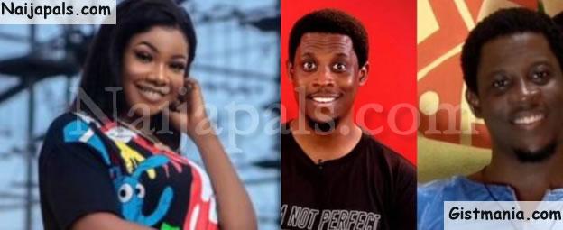 BBNaija 2019! Housemates, Seyi And Tacha Fake Evicted From The Reality Show