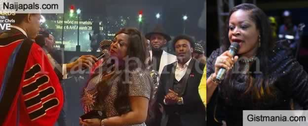 Popular Gospel Singer, Sinach Welcomes a Baby Boy After 5 Years Of Trying