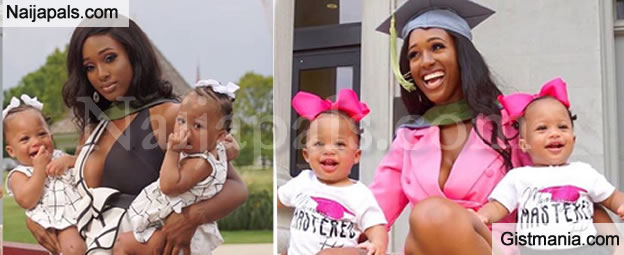 Inspiring Story of A Single Mom Who Got 3 Degrees Despite Welcoming A Set Of Twins