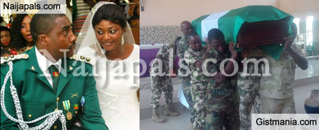 """Death Has Robbed Me Of My Hero"" – Wife Of Soldier Killed By Boko Haram Cries Out"