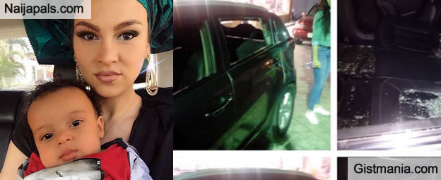 SHOCKING: Actor IK Ogbonna's Wife Sonia And Son Robbed In The Mile 2 Traffic In Lagos