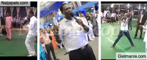 Nigerian Pastor, Jeremiah Fufeyin Mocked Over 'Joystick Miracle' Inside Church By South African